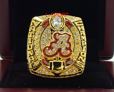 2015 2016 Alabama Crimson Tide Football National Championship Ring 8-14S for Saban