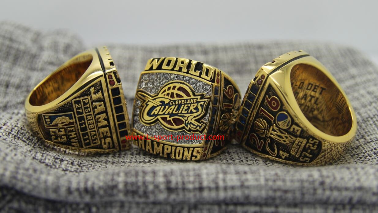 2016 Cleveland Cavaliers LeBron James Championship Ring 8 14S