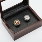 2PCS 1980 2008 PHILADELPHIA PHILLIES World Series Championship Ring Size 10-13 With wooden case