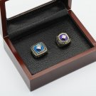 2PCS 1981 1988 LOS ANGELES DODGERS World Series Championship Ring Size 10-13 With wooden case