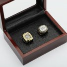 2PCS 1986 1993 Montreal Canadiens Hockey Championship Ring Size 10-13 With wooden case