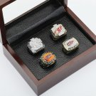4 PCS 1997 1998 2002 2008 Detroit Red Wings Hockey Championship Ring Size 10-13 +wooden case