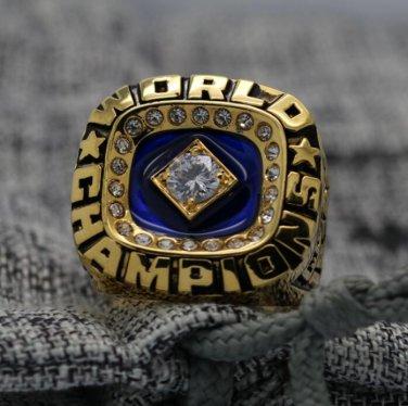 1978 New York Yankees world series Championship Ring Name MUNSON 9S