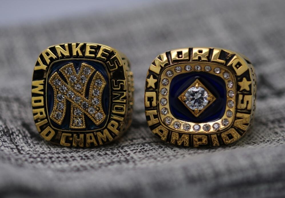 One Set 2 PCS 1977 1978 New York Yankees world series Championship Ring 8-14S MUNSON