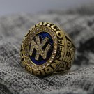 1998 New York Yankees world series Championship Ring Name jeter 8-14 Size