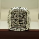 2013 NCAA Florida state Seminoles Orange Bowl National Championship Ring 8-14 Size