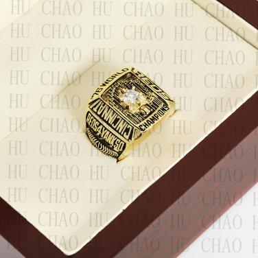 1976 CINCINNATI REDS MLB Championship Ring 10-13 Size with Logo wooden box