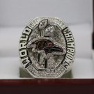 2012 Baltimore Ravens super bowl Championship Ring 8-14 Size With wooden box