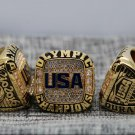2016 RIO OLYMPIC Basketball Championship Ring for USA 8-14 Size Copper solid