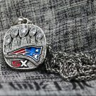 2016 2017 New England Patriots NFL championship Necklace with a steel chain