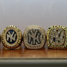 5 PCS 1996 1998 1999 2000 2009 New York Yankees world series Championship Ring 8-14S