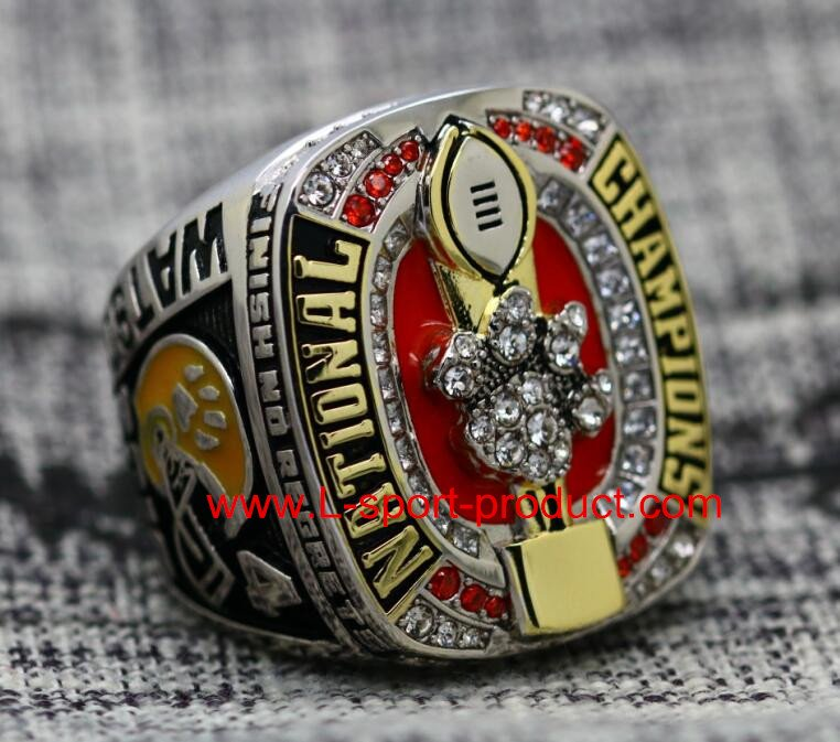 2016 2017 Clemson tigers NCAA championship ring 10S for WATSON COPPER VERSION