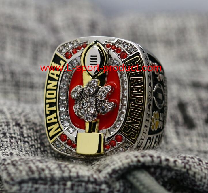 2016 2017 Clemson tigers NCAA championship ring 12S for WATSON COPPER VERSION