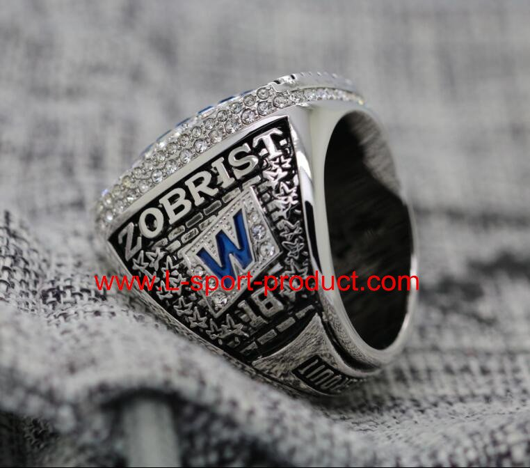 2016 Chicago Cubs MLB world series championship ring 14 Size copper for MVP Zobrist