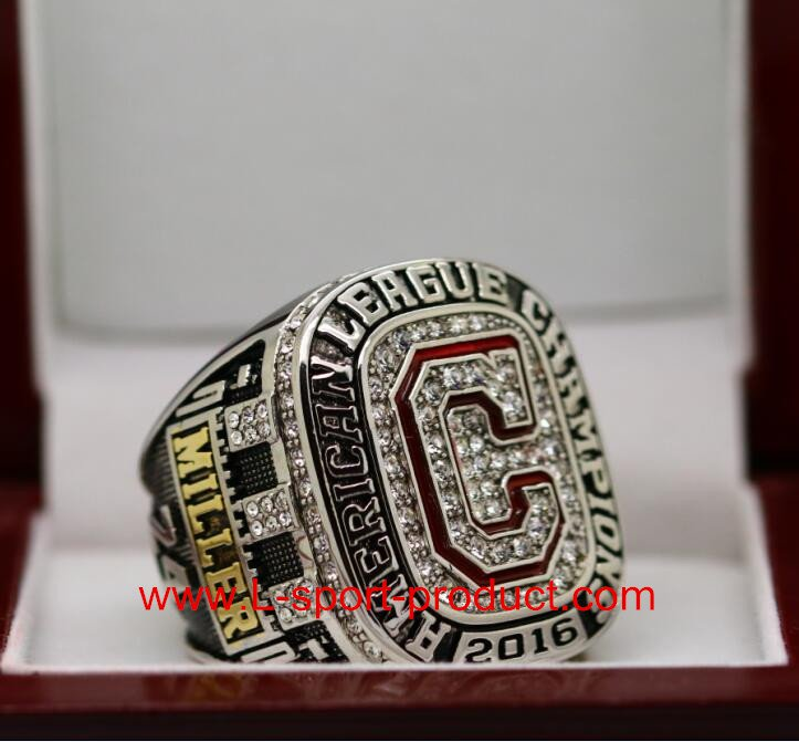 2016 2017 Cleveland Indians American League world series ring 12 Size copper for Miller