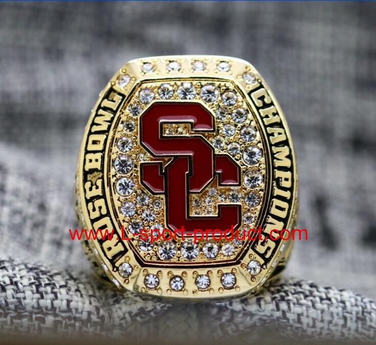2017 USC Trojans University of Southern California Rose Bowl Championship Ring 8-14S