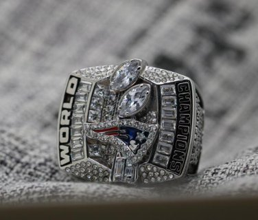 2003 New England Patriots super bowl championship ring 8-14S in stock Tom Brady