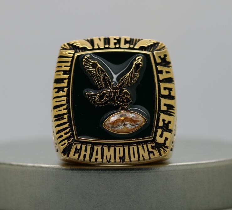 1980 PHILADELPHIA EAGLES NFC Football Championship Ring Size 8-14S copper version