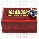 1980 New York Islanders NHL Hockey Championship Ring 10-13 Size with Logo wooden box