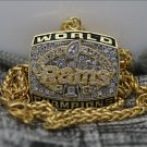 1999 St Louis Rams super bowl Championship necklace copper version with a 23inch chain