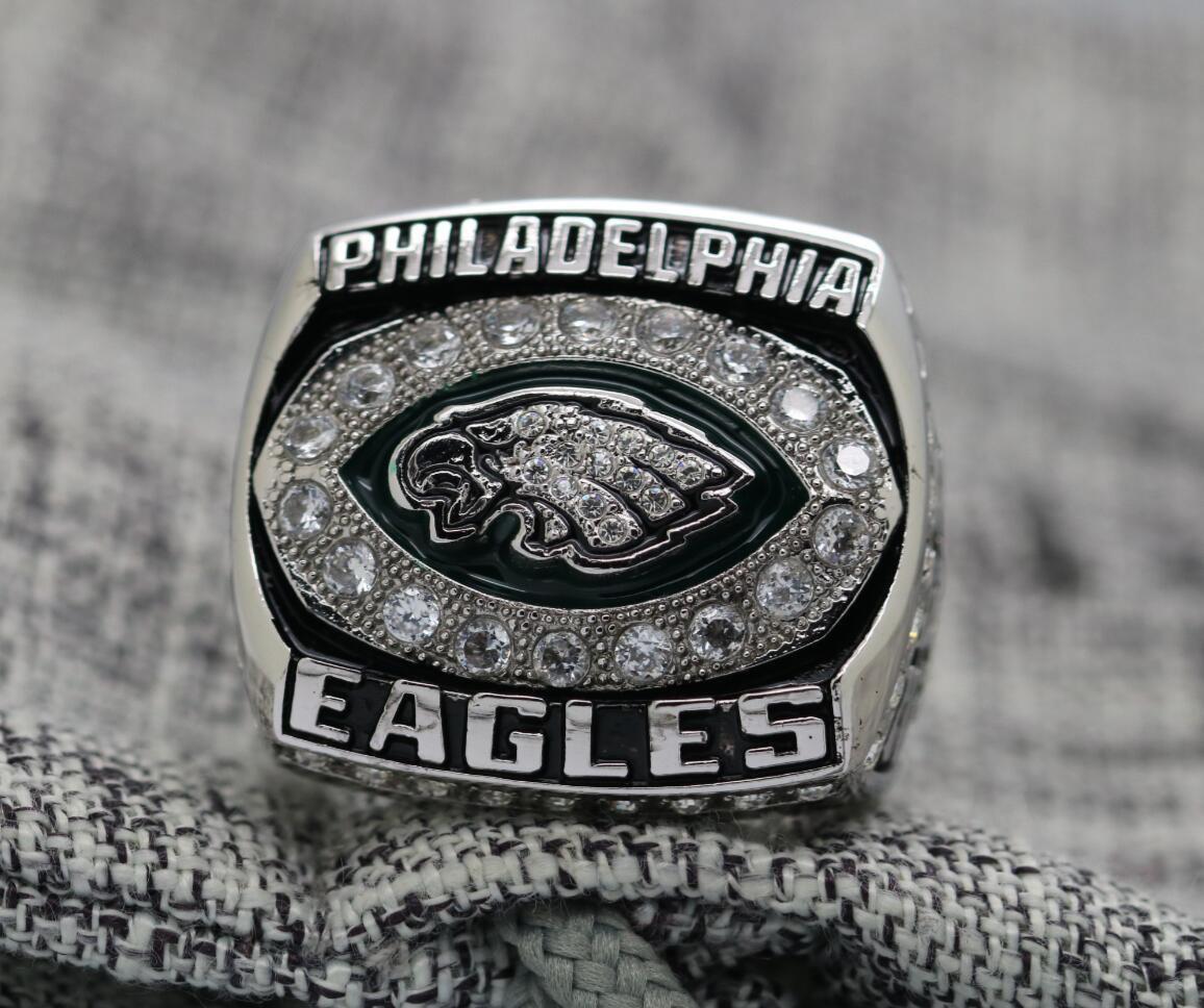2004 PHILADELPHIA EAGLES NFC Football Championship Ring Size 8-14S copper version