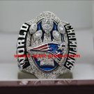 2016 2017 New England Patriots championship ring 8-14S for Brady