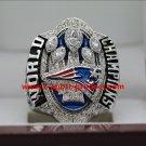 2016 2017 New England Patriots championship ring 8S for Brady