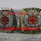 2PCS 2015 2016 Clemson tigers ACC National championship ring 8-14S for WATSON