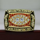 1987 Washington Redskins super bowl Championship Ring 8-14 Size copper version