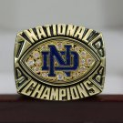 1988 Notre Dame Fighting Irish Football NCAA National championship ring 8-14S copper solid