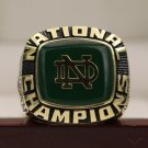 1977 Notre Dame Fighting Irish Football NCAA National championship ring 8-14S MVP JOE MONTANA