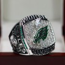 2018 PHILADELPHIA EAGLES SUPER BOWL LII Championship Ring 10 Size FOLES NAME