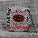 2017 2018 Georgia Bulldogs SEC NCAA National Championship Ring 8-14Size