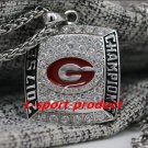 2017 2018 Georgia Bulldogs SEC NCAA National Championship Necklace +22 Incha Chain
