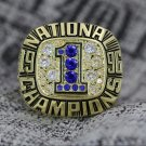 1996 Florida Gators NCAA National championship ring 8-14S for sale copper solid