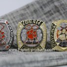 One Set 3 PCS 2015 2016 2017 Clemson tigers ACC National championship ring 8-14S