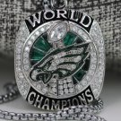 NEWEST 2018 PHILADELPHIA EAGLES SUPER BOWL LII Championship necklace with chain