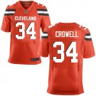 Reuben Droughns #34 Cleveland Browns  Red Limited Men's jersey M L XL XXL XXXL