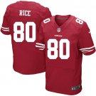 JERRY RICE #80 SAN FRANCISCO 49ERS Red Limited Men's jersey M L XL XXL XXXL