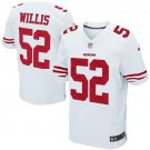 PATRICK WILLIS #52 SAN FRANCISCO 49ERS White Limited Men's jersey M L XL XXL XXXL