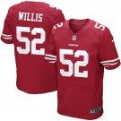 PATRICK WILLIS #52 SAN FRANCISCO 49ERS Red Limited Men's jersey M L XL XXL XXXL