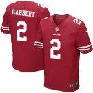 Blaine Gabbert #2 SAN FRANCISCO 49ERS Red Limited Men's jersey M L XL XXL XXXL