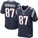 Rob Gronkowski #87 New England Patriots Blue Limited Men's jersey M L XL XXL XXXL