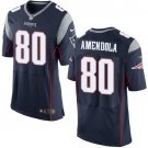 Danny Amendola #80 New England Patriots Blue Limited Men's jersey M L XL XXL XXXL