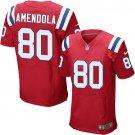 Danny Amendola #80 New England Patriots Red Limited Men's jersey M L XL XXL XXXL