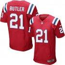 Malcolm Butler #21 New England Patriots Red Limited Men's jersey M L XL XXL XXXL