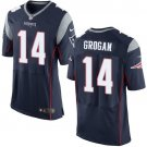 Steve Grogan #14 New England Patriots Blue Limited Men's jersey M L XL XXL XXXL