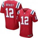 Tom Brady #12 New England Patriots Red Limited Men's jersey M L XL XXL XXXL