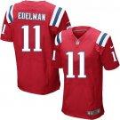 JULIAN EDELMAN #11 New England Patriots Red Limited Men's jersey M L XL XXL XXXL
