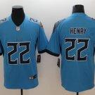 Derrick Henry #22 Tennessee Titans Blue Limited Men's jersey M L XL XXL XXXL